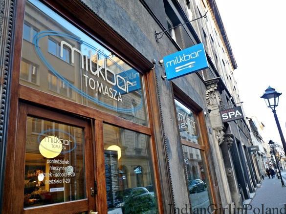 Milkbar on Tomasza Street