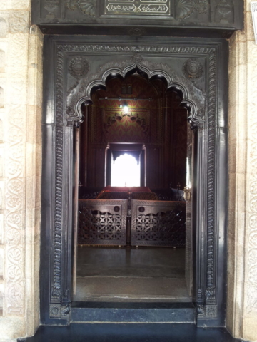 Inside tomb of Tipu's father Hyder Ali