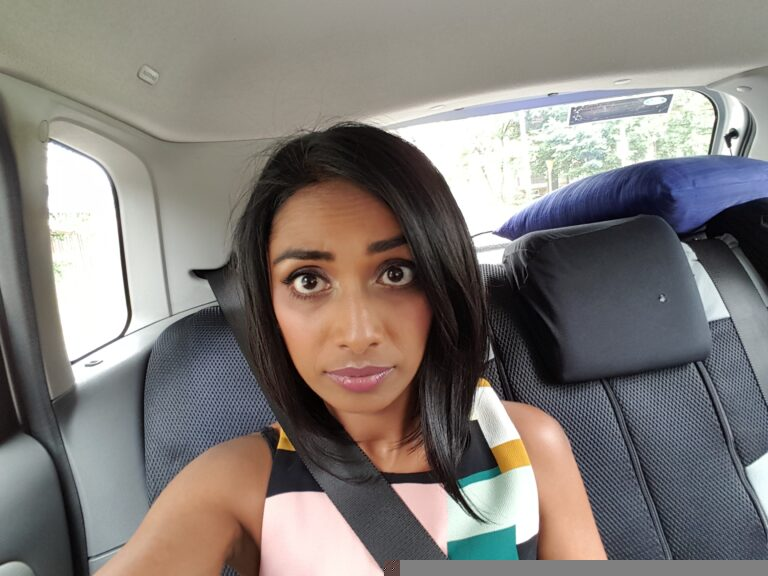 Car selfie!