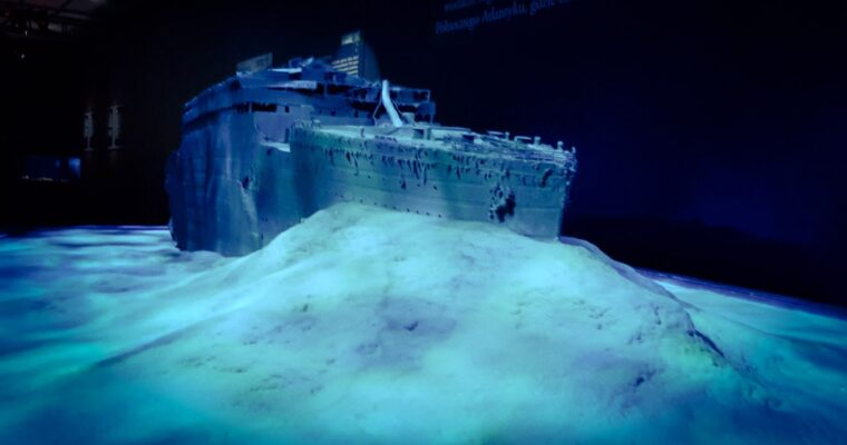 Titanic: the Artefact Exhibition Krakow