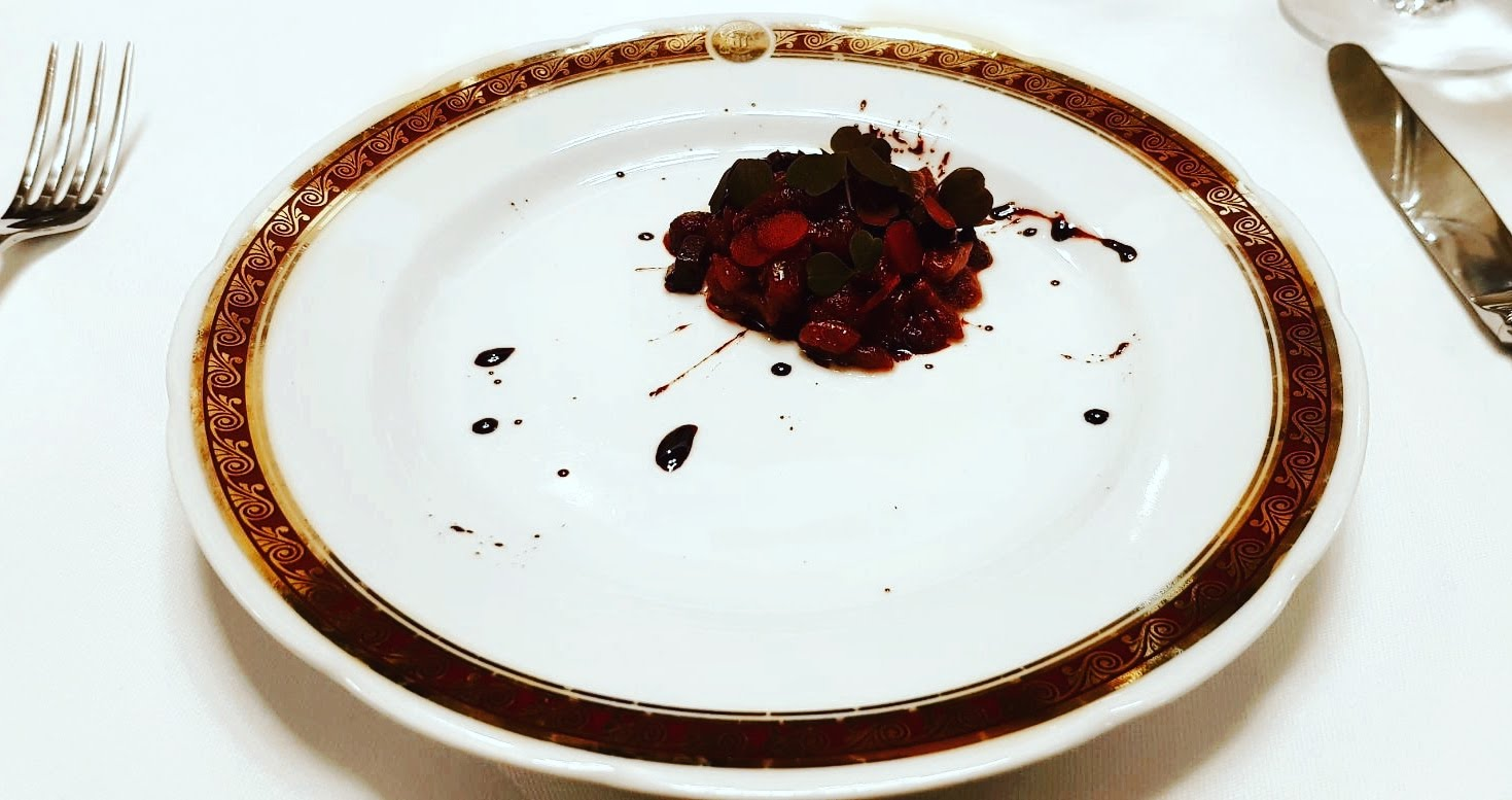 beetroot assiette