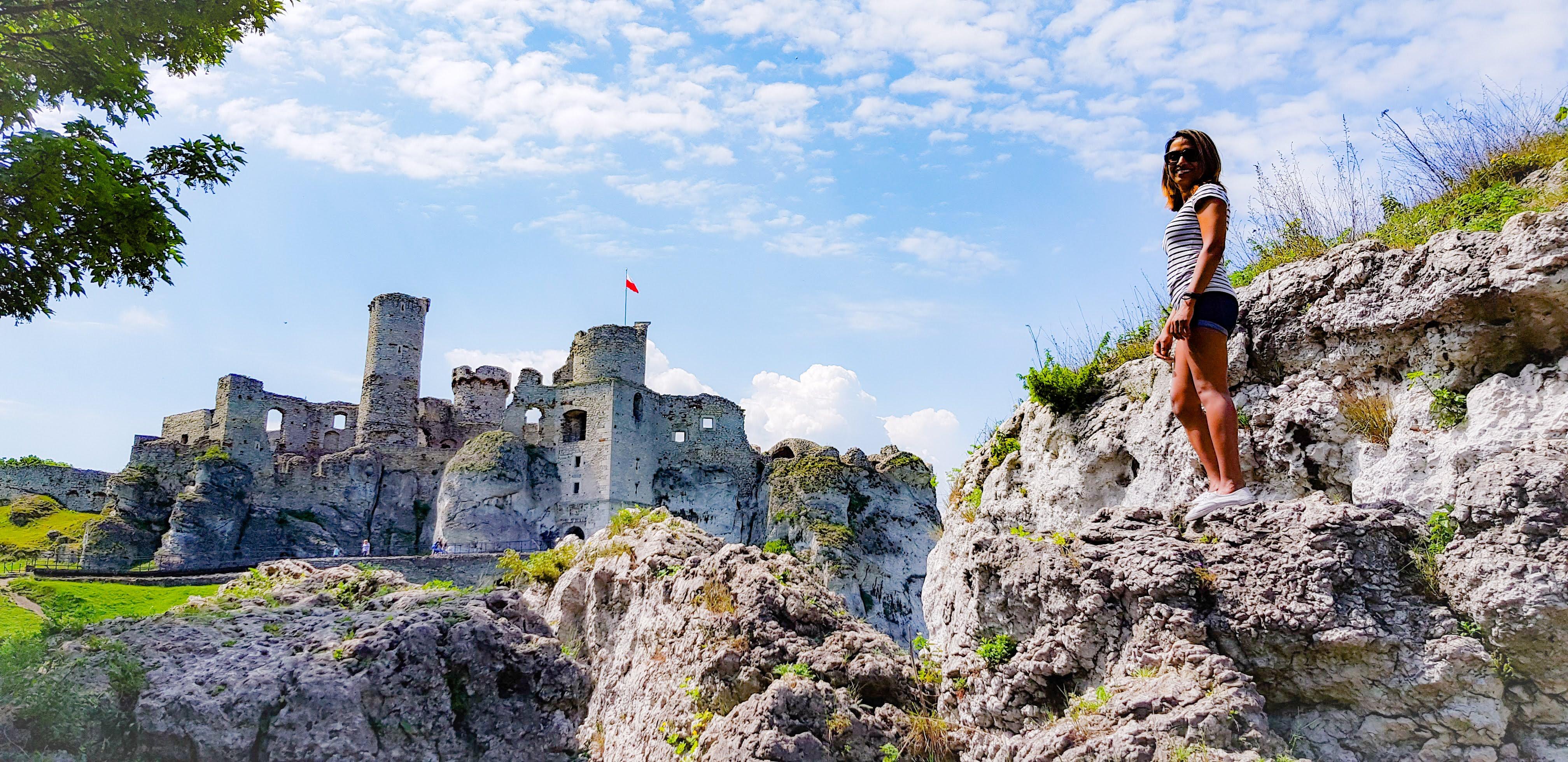 A Garden Castle – Ogrodzieniec (Ogrod-ji-en-ieths)